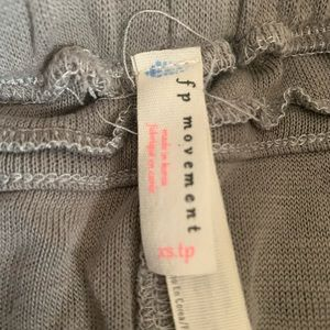 Free People Pants & Jumpsuits - Free People light grey jogger. Size XS